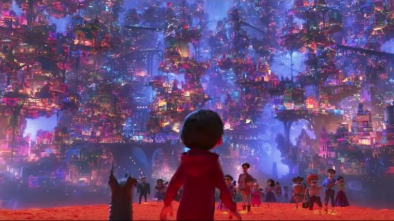 Welcome to the Land of the Dead in New Coco Clip