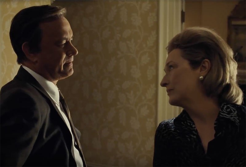 Steven Spielberg's The Post Trailer With Tom Hanks & Meryl Streep