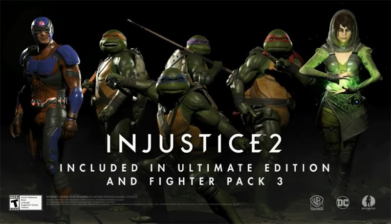 Atom, Enchantress and TMNT Coming to Injustice 2 Fighter Pack 3