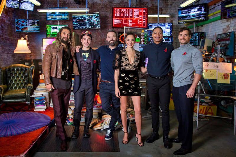The League in the Super Rooms at the London Justice League Experience