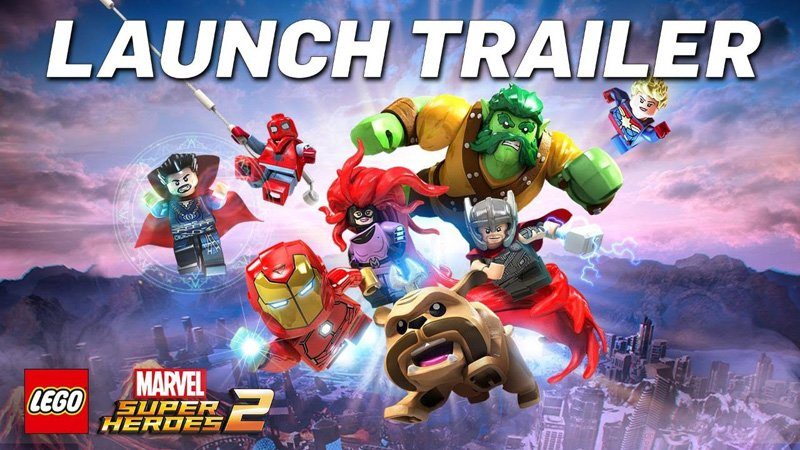 The LEGO Marvel Super Heroes 2 Launch Trailer