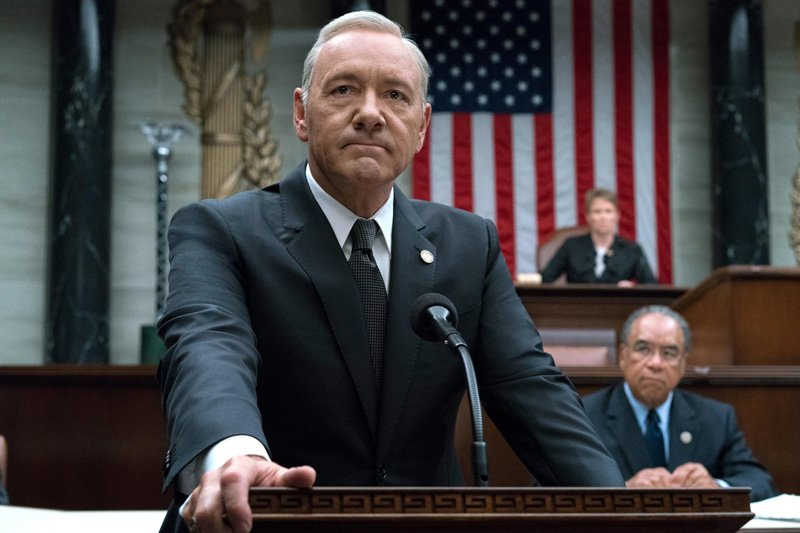 Kevin Spacey Fired from House of Cards