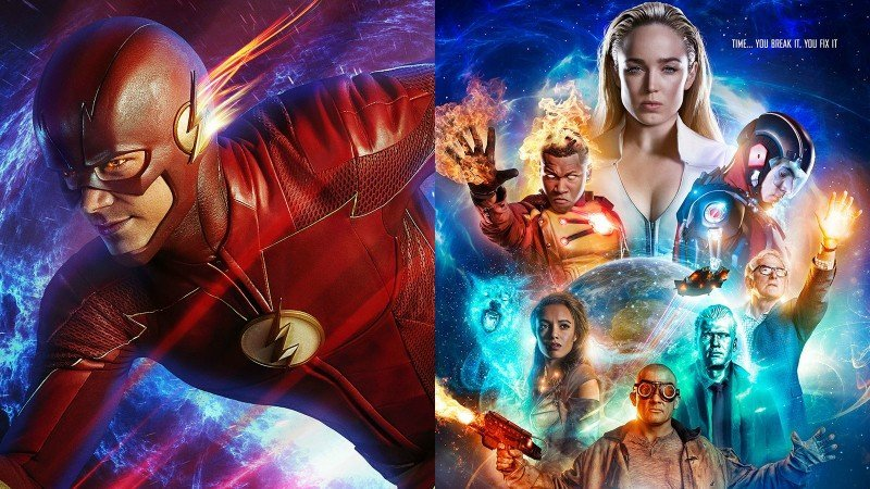 The Flash and Legends of Tomorrow Midseason Premiere Trailers!