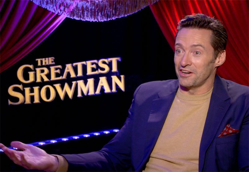 CS Video: Hugh Jackman, Zac Efron and The Greatest Showman Cast!