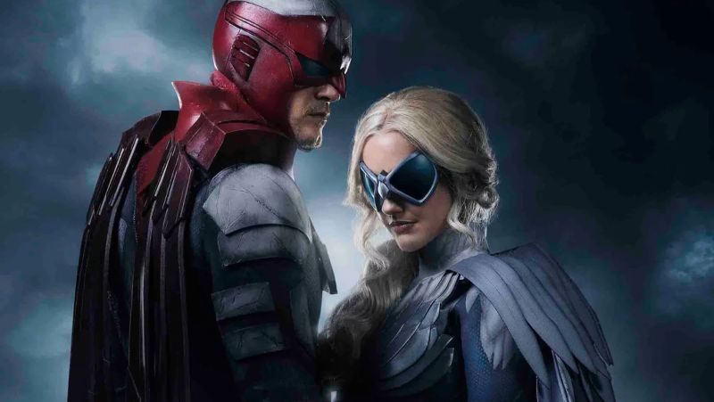 First Look At Hawk And Dove In Dcs Titans - Comingsoonnet-2160