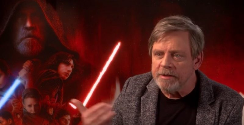 Mark Hamill's initial disagreement with The Last Jedi's version of Luke Skywalker and Rian Johnson's response to criticism of the film
