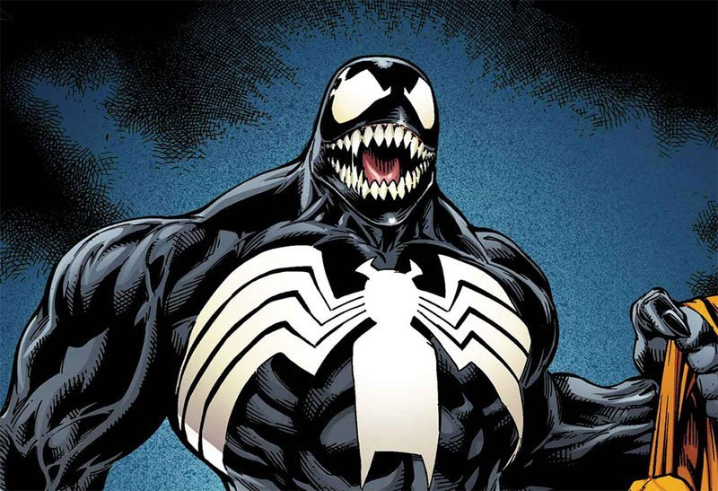 First Venom Banners Pop Up at Brazilian Comic Con