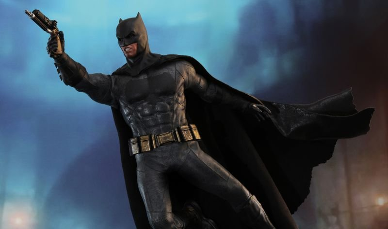 Justice League Batman Hot Toy Debuts