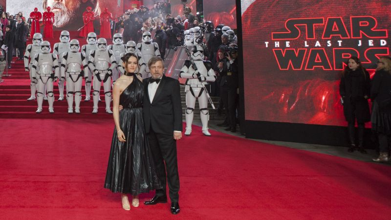 Photos from the Star Wars: The Last Jedi European Premiere