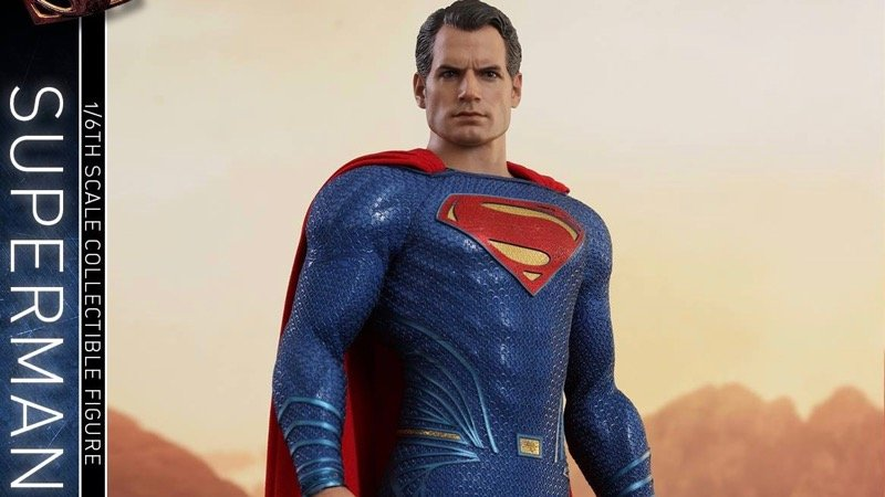 Justice League Superman Hot Toy Debuts