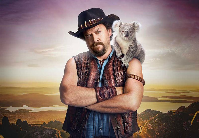 G'Day? 'Dundee' Teaser Reveals Danny McBride as Crocodile Dundee's Son