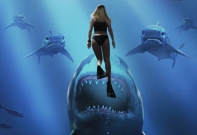 Deep Blue Sea 2 Trailer and Box Art for the DTV Movie