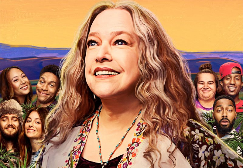 Disjointed Season 2 Trailer and Key Art With Kathy Bates