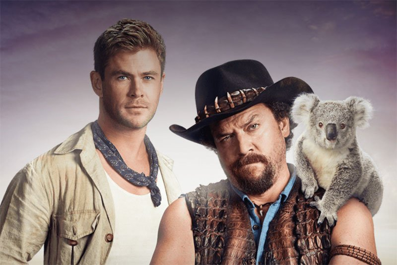 Chris Hemsworth Joins Danny McBride in Dundee!
