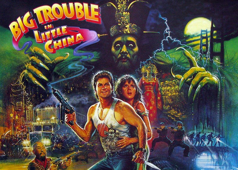 """Dwayne """"The Rock"""" Johnson stars in Big Trouble in Little China."""