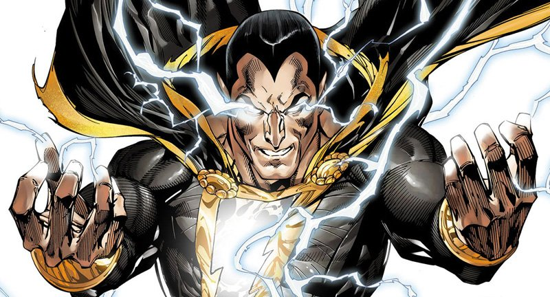 "Dwayne ""The Rock"" Johnson will play Black Adam."
