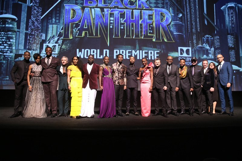 Black Panther World Premiere Photos
