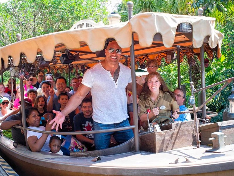 "Dwayne ""The Rock"" Johnson stars in Jungle Cruise."