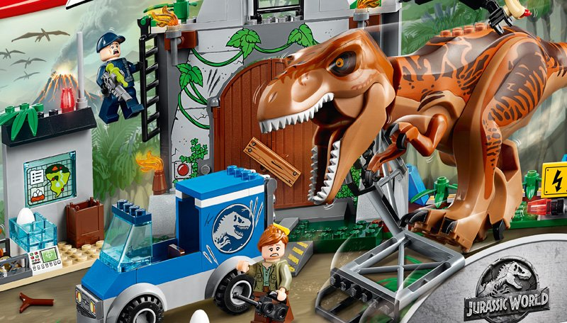 Jurassic World: Fallen Kingdom LEGO Sets, Animated Content and More Announced