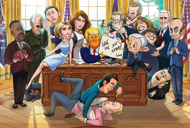 Showtime Puts First Our Cartoon President Episode Online
