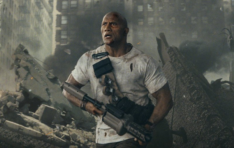 "Dwayne ""The Rock"" Johnson stars in Rampage."