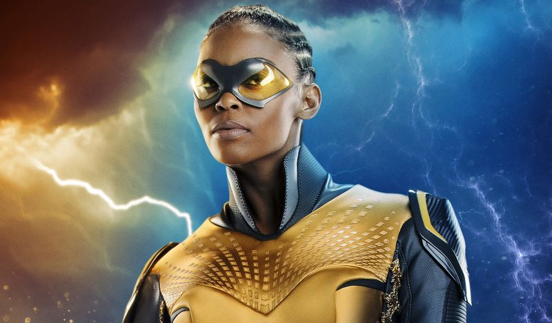 First Look at Superhero Thunder from Black Lightning!