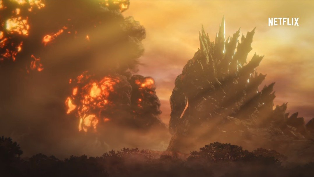 Godzilla Anime Premiere Date Revealed in New Trailer