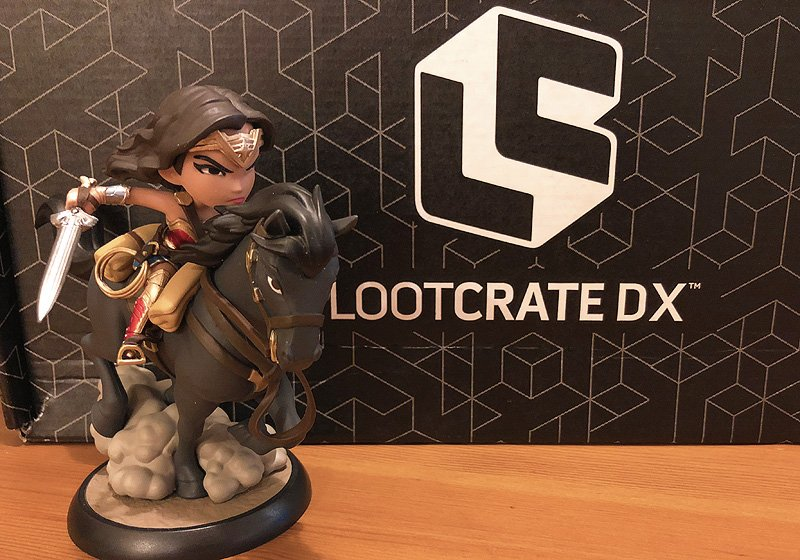 February 2018 Loot Crate DX Unboxing, Featuring Wonder Woman