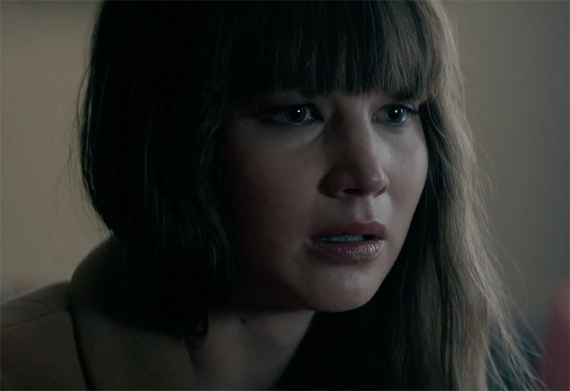 Jennifer Lawrence Says Goodbye in Red Sparrow Clip