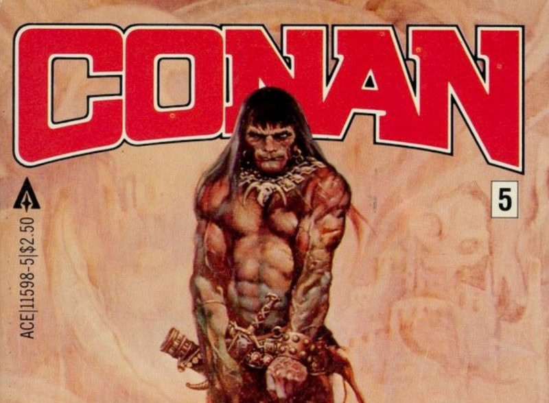 A Conan the Barbarian series is in the works at Amazon, based on the books by Robert E. Howard