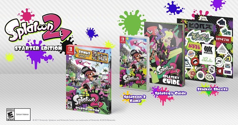 Nintendo to Release Splatoon 2 Starter Edition, New Amiibo