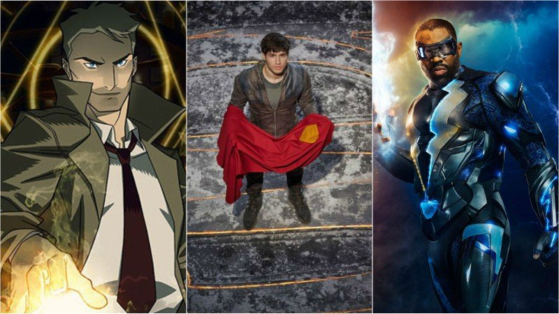 WBTV WonderCon Schedule Includes Krypton, Constantine, and More!