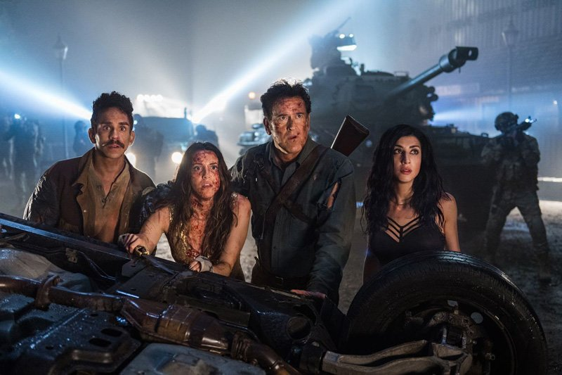 A Visit to the Set of Ash vs Evil Dead Season 3