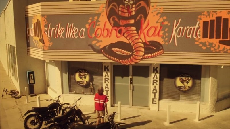 Johnny and Daniel face off again in first 'Cobra Kai' teaser
