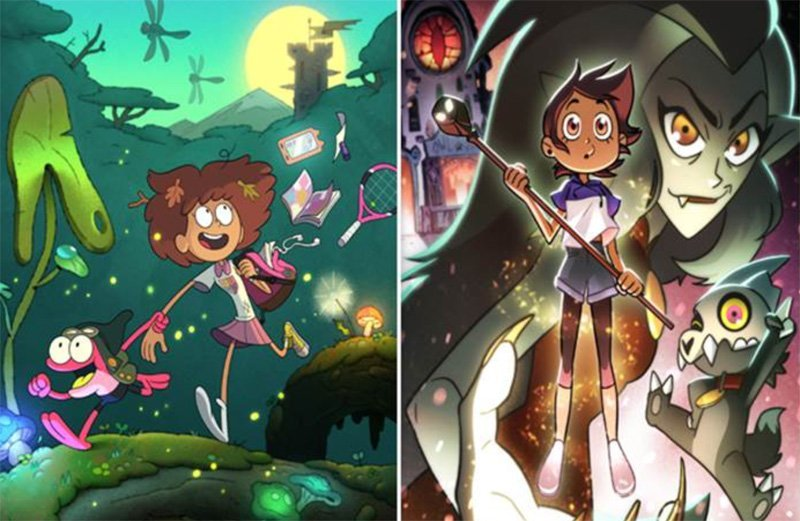 Disney Channel Greenlights Two Original Series, Amphibia and The Owl House