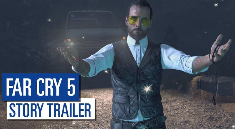 The Far Cry 5 Story Trailer Revealed