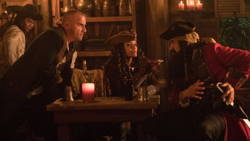DC's Legends of Tomorrow Meet Blackbeard in New Episode Photos