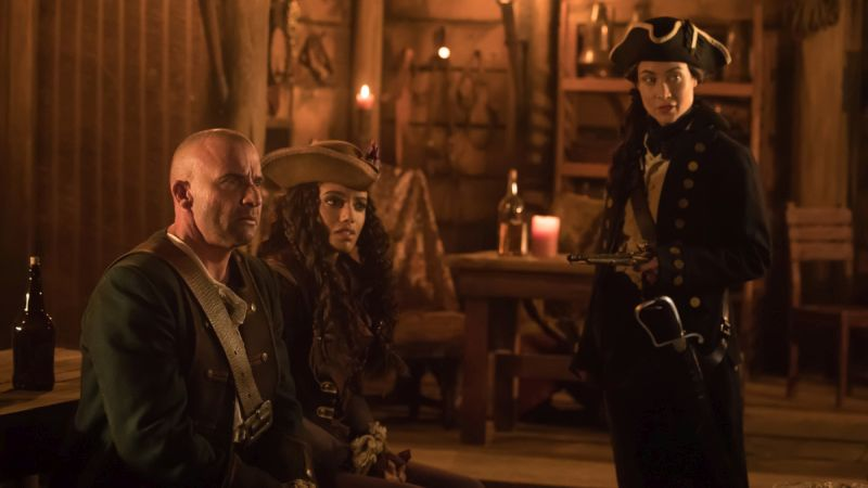DC's Legends of Tomorrow Take on Pirates in New Promo