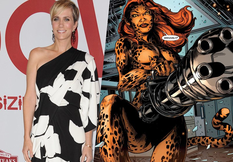 Kristin Wiig Confirmed to Play Cheetah in 'Wonder Woman' Sequel