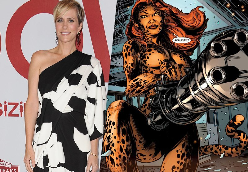 Kristen Wiig Confirmed as Cheetah for Wonder Woman 2