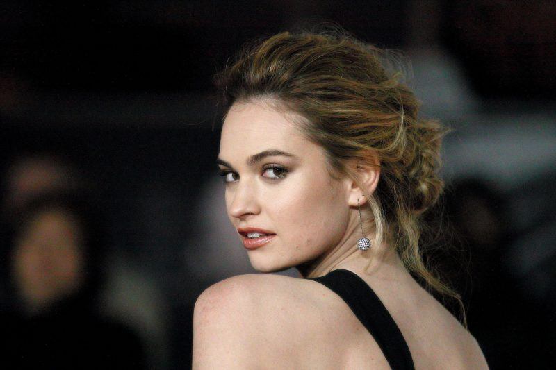 Lily James is in talks to star in an untitled Danny Boyle comedy