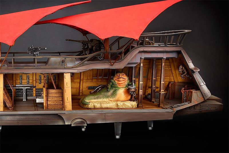 First Finished Look at Jabba's Sail Barge From Hasbro