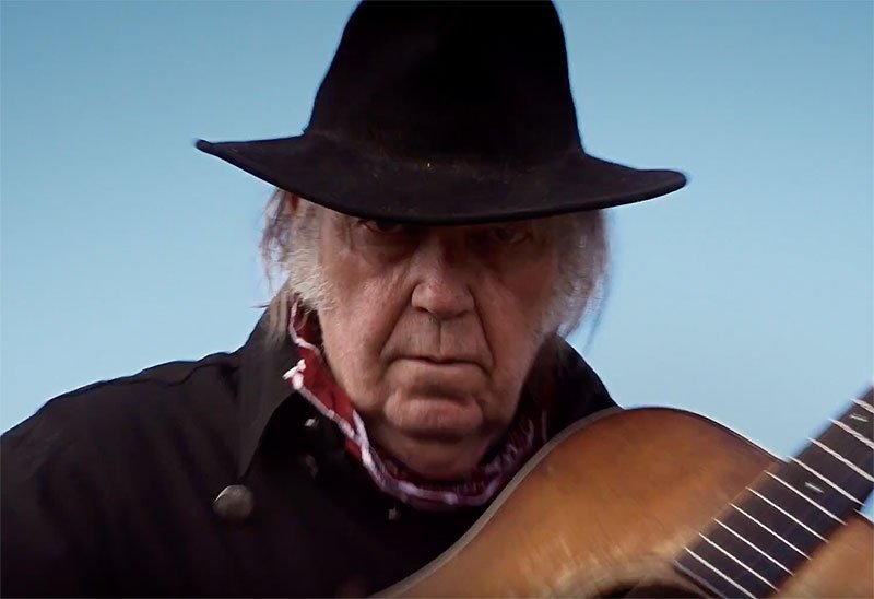 Watch the Trailer for Neil Young Netflix Movie Paradox