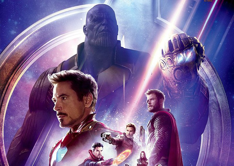 Japanese Infinity War Poster Unites the MCU Against Thanos