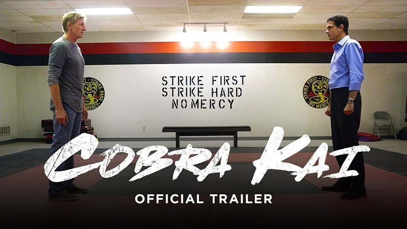 Watch The Insane COBRA KAI Trailer