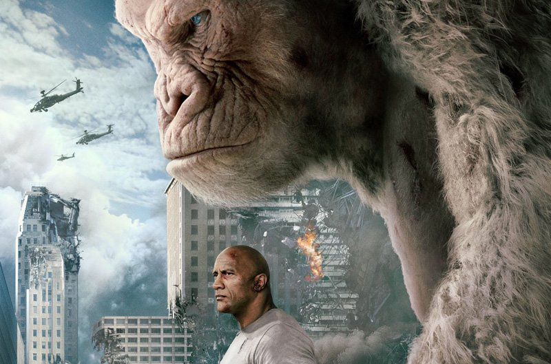 Rampage Set Visit: Dwayne Johnson Says It's Okay to Root for the Monsters