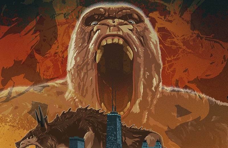Warner Bros. Celebrates Rampage Monster Week