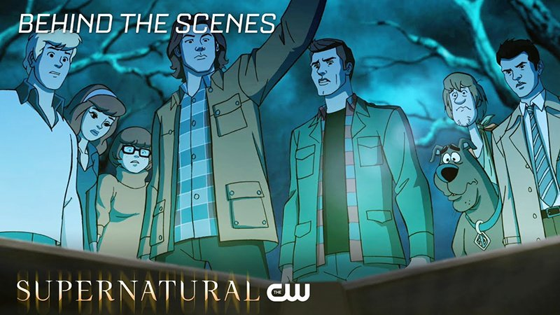 Behind-the-Scenes Look at Supernatural's ScoobyNatural Released!
