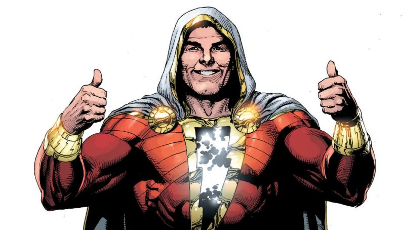 Shazam Set Video Shows the Hero in Action
