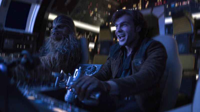 Solo Theater Standee Puts You in the Millennium Falcon